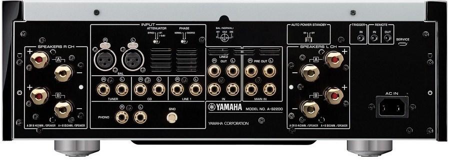 Yamaha A-S2200 výstupy na reproduktory