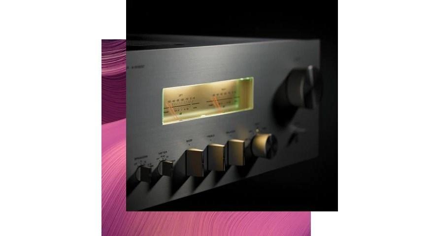 Yamaha A-S1200 retro ovládací panel