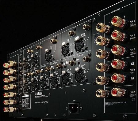 Yamaha MX-A5200 titanový eliminuje účinky vibrací