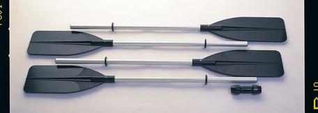 Pádlo kajak - hliník Intex 69627 122cm/244cm