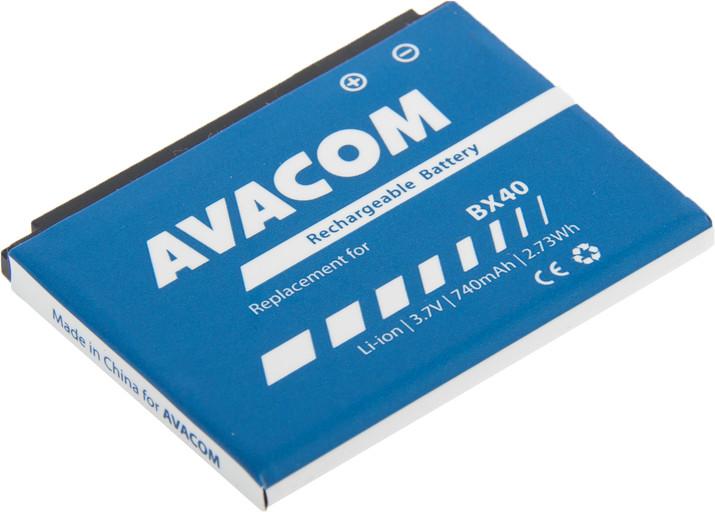 AVACOM GSMO-BX40-S740 Li-Ion 3,7V 740mAh - neoriginální - Baterie do mobilu Motorola U9, V9, V9x Li-