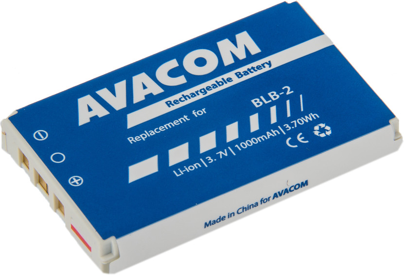 AVACOM GSNO-BLB2-S1000 Li-Ion 3,7V 1000mAh - neoriginální - Baterie do mobilu Nokia 8210, 8850 Li-Ion 3,7V 1000mAh (náhrada BLB-2)