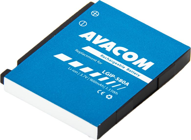 AVACOM GSLG-KU990-S900 Li-Ion 3,7V 900mAh - neoriginální - Baterie do mobilu LG KU990 Li-Ion 3,7V 900mAh (náhrada LGIP-580A)