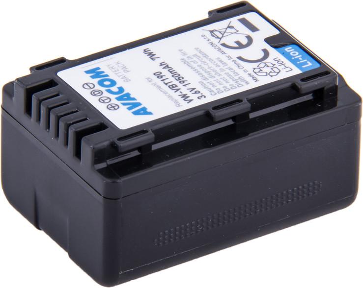 AVACOM VIPA-T190-J1950 Li-Ion 3.6V 1950mAh - neoriginální - Baterie Panasonic VW-VBT190 Li-Ion 3.6V