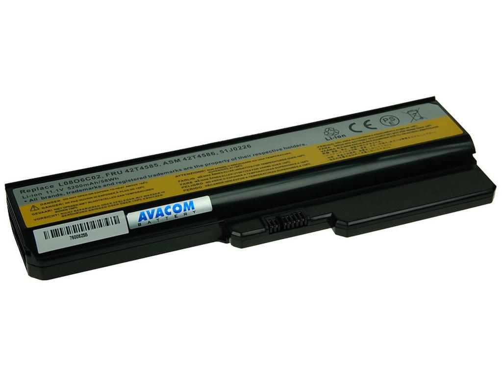 AVACOM NOLE-G550-806 Li-Ion 11,1V 5200mAh - neoriginální - Baterie Lenovo G550, IdeaPad V460 series