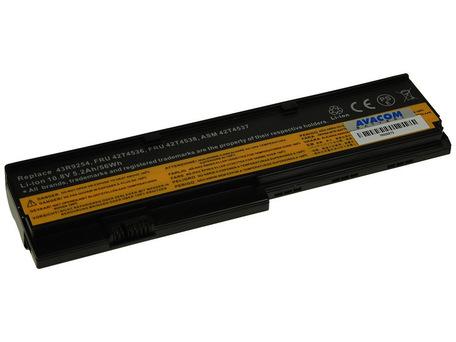 AVACOM NOLE-X200-806 Li-Ion 11,1V 5200mAh - neoriginální - Baterie Lenovo X200 series Li-Ion 11,1V 5200mAh/58Wh + DOPRAVA ZDARMA