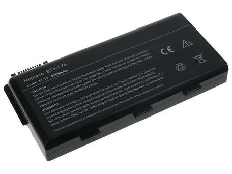 AVACOM NOMS-CR60-S26 Li-Ion 10,8V 5200mAh - neoriginální - Baterie MSI MegaBook CR500/CR600/CX600 Li-Ion 10,8V 5200mAh/56Wh BTY-L74 - AVACOM Li-ion 5200mAh NOMS-CR60-S26 - neoriginální