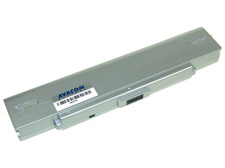 AVACOM NOSO-9SN-806 Li-ion 11,1V 5200mAh - neoriginální - Baterie Sony VGN-AR520/SZ61, VGP-BPS9, VGP-BPS10 Li-ion 11,1V 5200mAh/58Wh silver + DOPRAVA ZDARMA