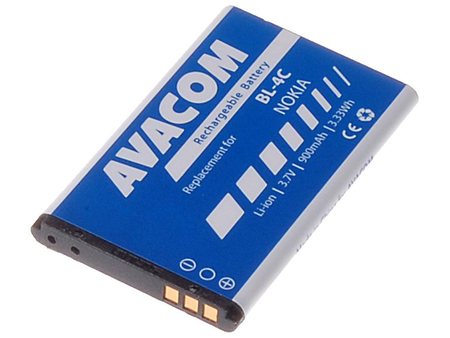 AVACOM GSNO-BL4C-S900A Li-Ion 3,7V 900mAh - neoriginální - Baterie do mobilu Nokia 6300 Li-Ion 3,7V 900mAh (náhrada BL-4C)