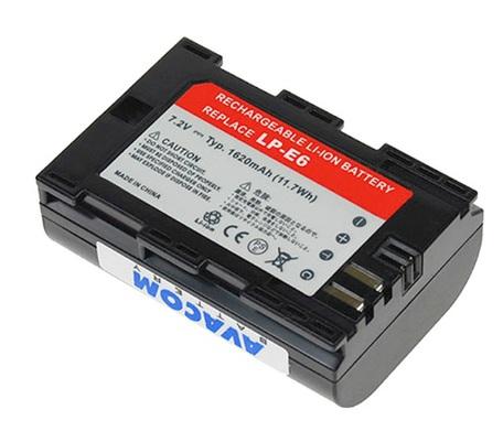 AVACOM DICA-LPE6-855N2 Li-Ion 7.2V 1620mAh - neoriginální - Baterie Canon LP-E6 Li-Ion 7.2V 1620mAh 11.7Wh