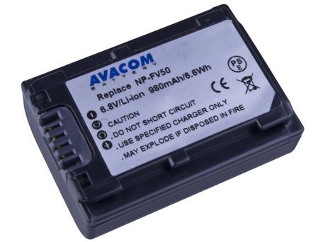 AVACOM VISO-FV50-142 Li-ion 6.8V 980mAh - neoriginální - Baterie Sony NP-FV30, NP-FV50 Li-ion 6.8V 980mAh 6Wh