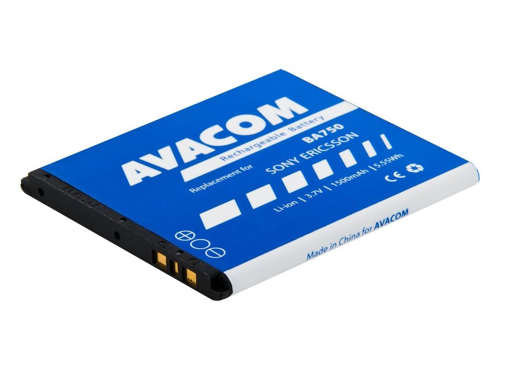 AVACOM GSSE-ARC-S1500A Li-Ion 3,7V 1500mAh - neoriginální - Baterie do mobilu Sony Ericsson Xperia A