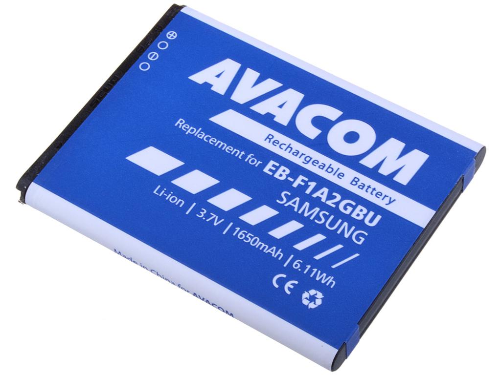AVACOM GSSA-I9100-S1650A Li-Ion 3,7V 1650mAh - neoriginální - Baterie do mobilu Samsung i9100 Li-Ion 3,7V 1650mAh (náhrada EB-F1A2GBU)