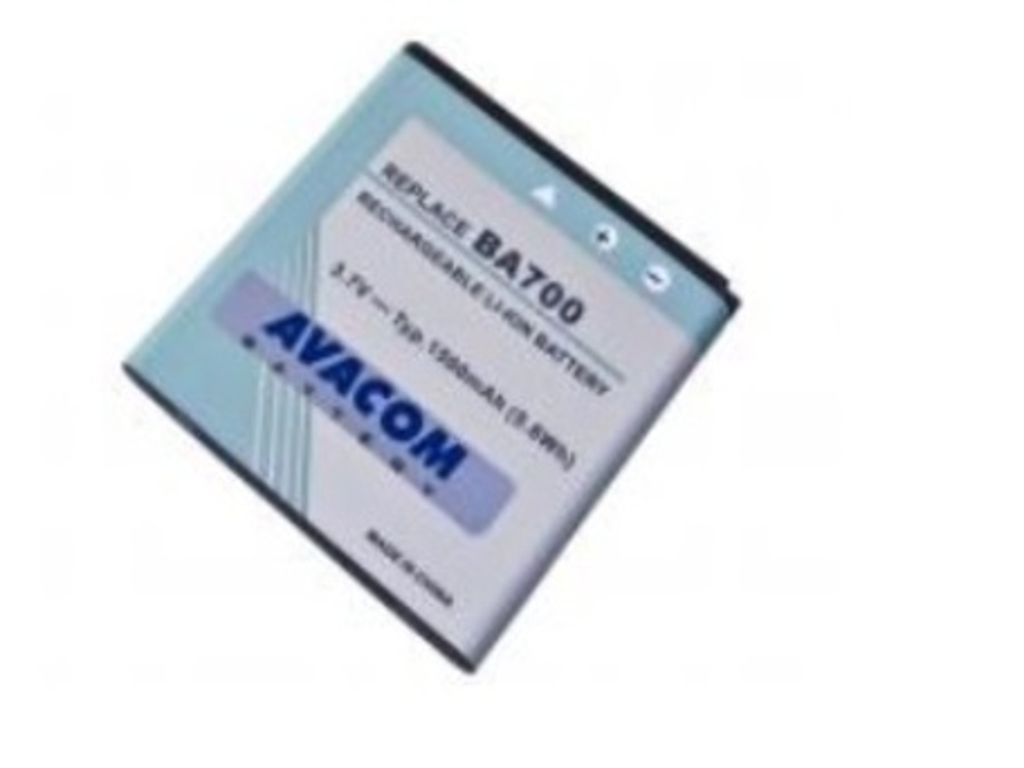 AVACOM GSSE-NEO-1500A Baterie do mobilu Sony Ericsson pro Xperia Neo, Xperia Pro, Xperia Ray Li-Ion 3,7V 1500mAh (náhrada BA700)