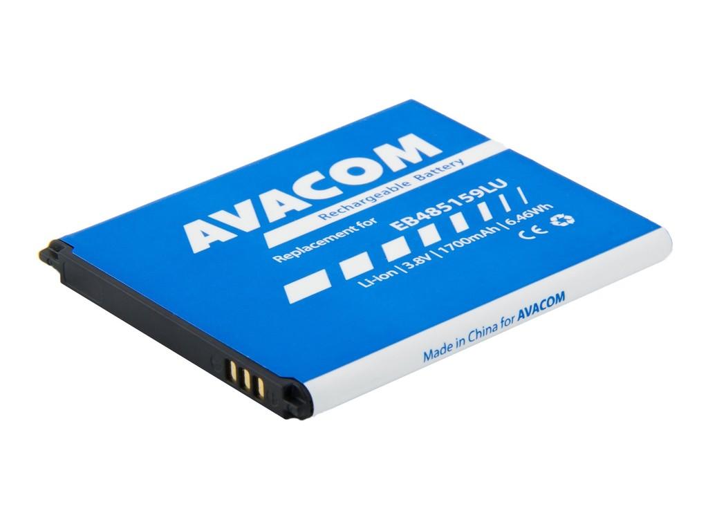 AVACOM GSSA-S7710-1700 Li-Ion 3,8V 1700mAh - neoriginální - Baterie do mobilu Samsung Galaxy Xcover 2 Li-Ion 3,8V 1700mAh, (náhrada EB485159LU)