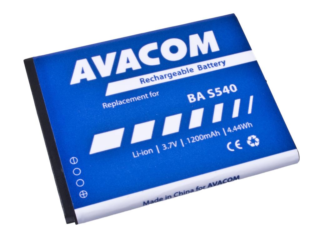 AVACOM GSHT-HD3-S1200 Li-Ion 3,7V 1200mAh - neoriginální - Baterie do mobilu HTC Wildfire S Li-Ion 3,7V 1200mAh (náhrada BD29100) - Baterie AVACOM GSHT-HD3-S1200 1200mAh - neoriginální