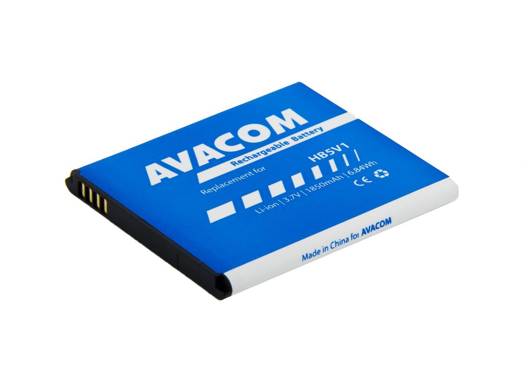 AVACOM GSHU-HB5V1-2100 Li-Ion 3,7V 1850mAh - neoriginální - Baterie do mobilu Huawei Ascend Y300 Li-Ion 3,7V 1850mAh, (náhrada HB5V1)
