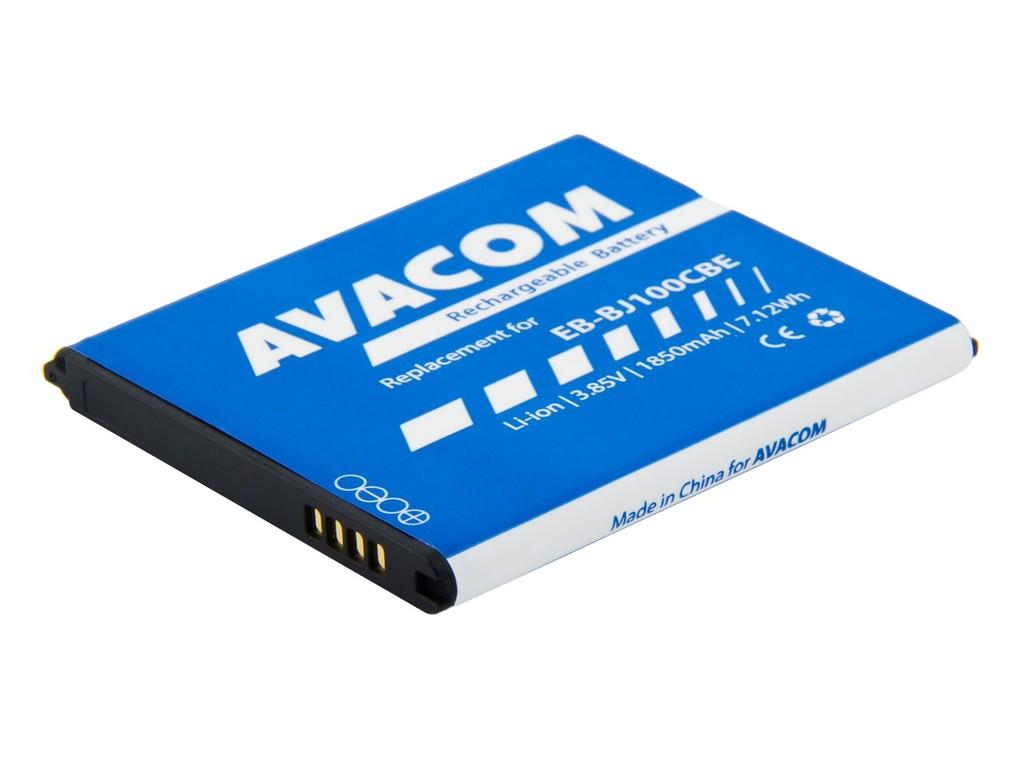 AVACOM GSSA-J100-1850 Li-Ion 3,85V 1850mAh - neoriginální - Baterie do mobilu Samsung Galaxy J1 Li-Ion 3,85V 1850mAh, (náhrada EB-BJ100CBE)