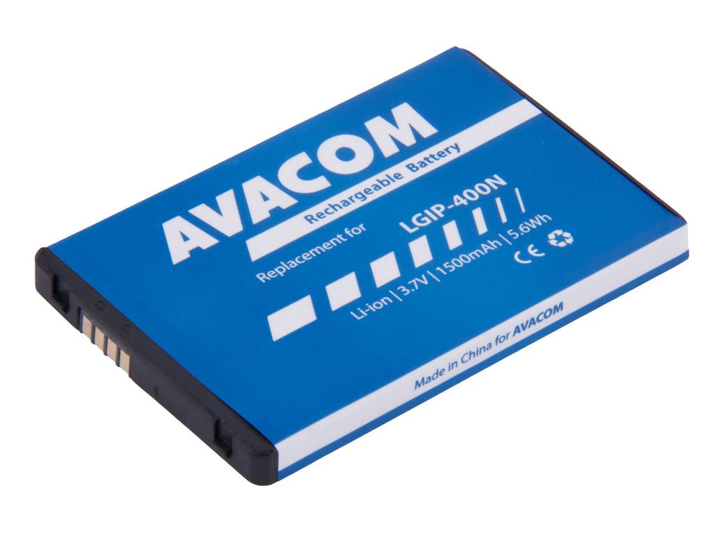 AVACOM GSLG-P500-1500 Li-Ion 3,7V 1500mAh - neoriginální - Baterie do mobilu LG P500 Optimus One Li-Ion 3,7V 1500mAh (náhrada LGIP-400N)