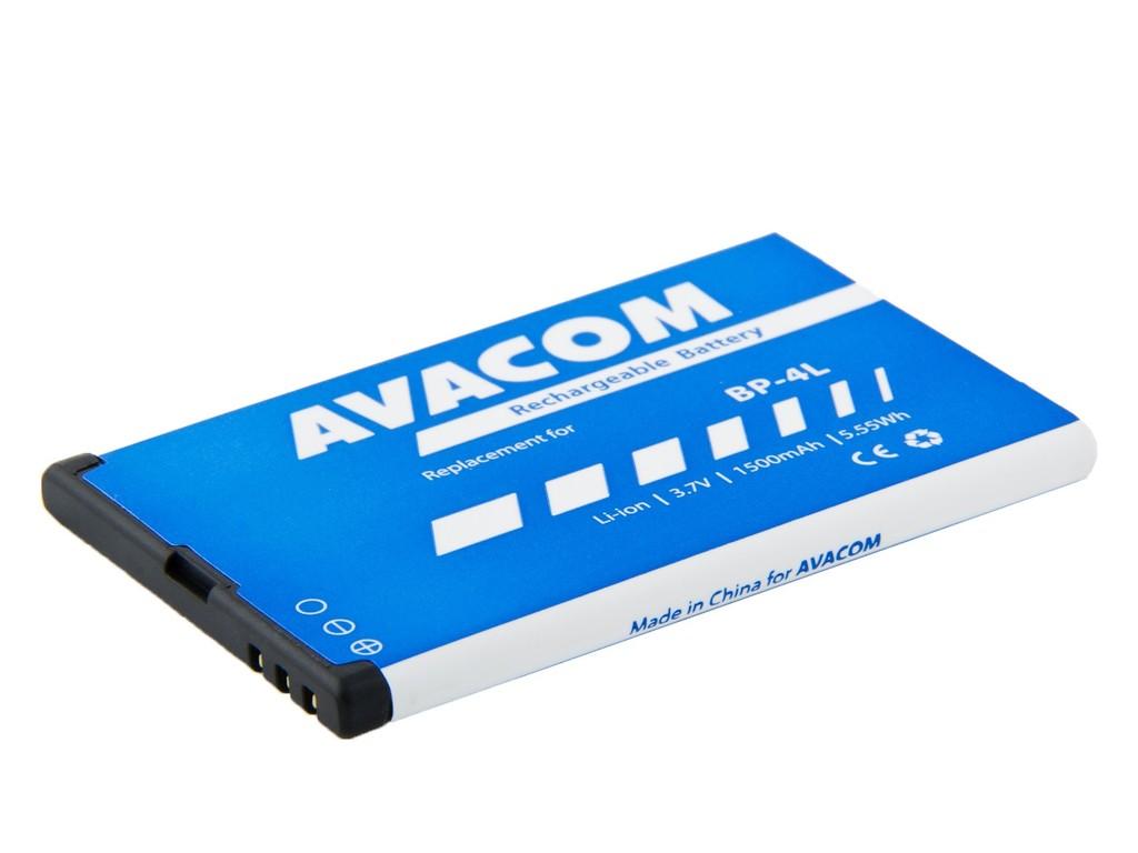 AVACOM GSNO-BP4L-S1500Aa Li-Ion 3,7V 1500mAh - neoriginální - Baterie do mobilu Nokia E55, E52, E90, Li-Ion 3,7V 1500mAh (náhrada BP-4L)