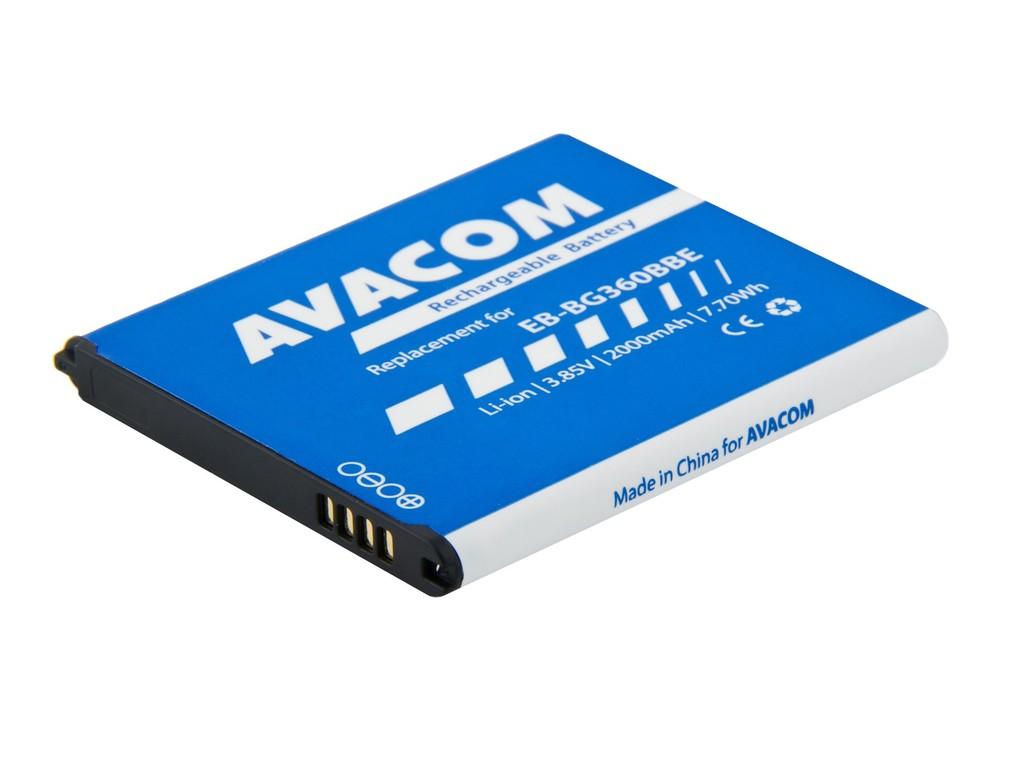 AVACOM GSSA-ACE4-1900 Li-Ion 3,8V 1900mAh - neoriginální - Baterie do mobilu Samsung Galaxy Ace4 Li-Ion 3,8V 1900mAh, (náhrada EB-BG357BBE)