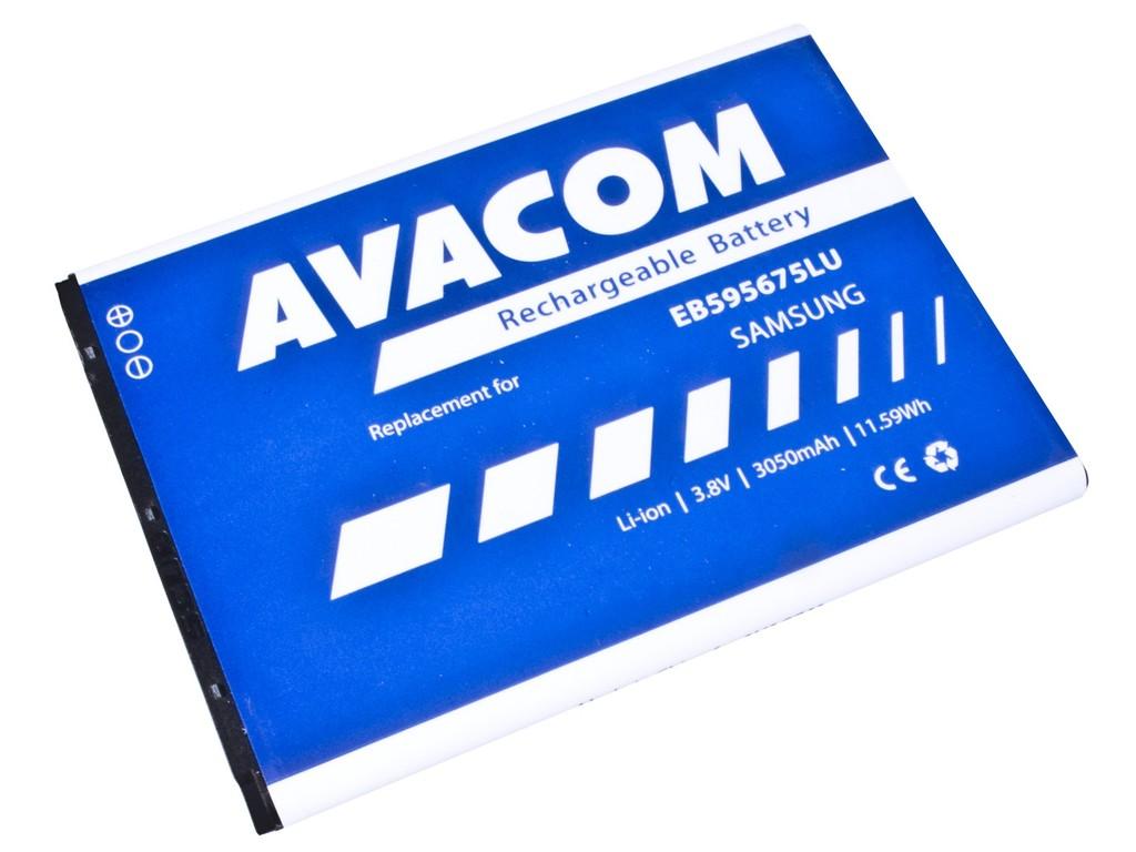 AVACOM GSSA-N7100-S3050A Li-Ion 3,8V 3050mAh - neoriginální - Baterie do mobilu Samsung Galaxy Note 2, Li-Ion 3,8V 3050mAh (náhrada EB595675LU)