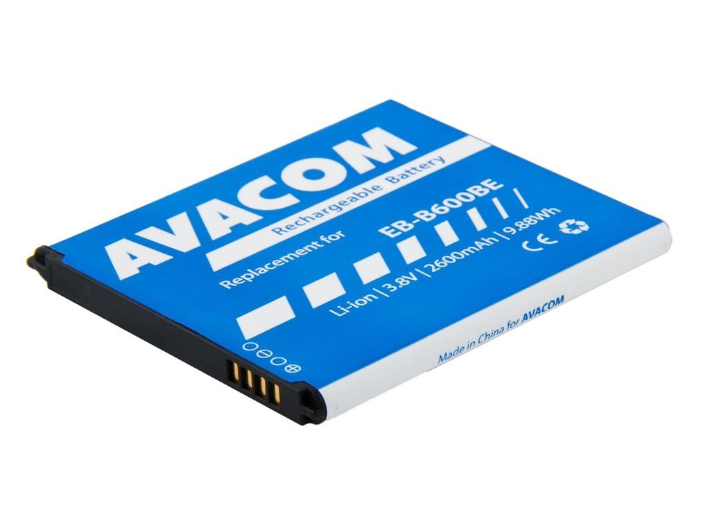 AVACOM GSSA-i9500-2600A Li-Ion 3,8V 2600mAh - neoriginální - Baterie do mobilu Samsung Galaxy S4 Li-Ion 3,8V 2600mAh, (náhrada EB-B600BE)