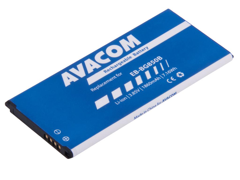 AVACOM GSSA-G850-1860 Li-Ion 3,85V 1860mAh - neoriginální - Baterie do mobilu Samsung G850 Galaxy Alpha Li-Ion 3,85V 1860mAh (náhrada EB-BG850BBE)
