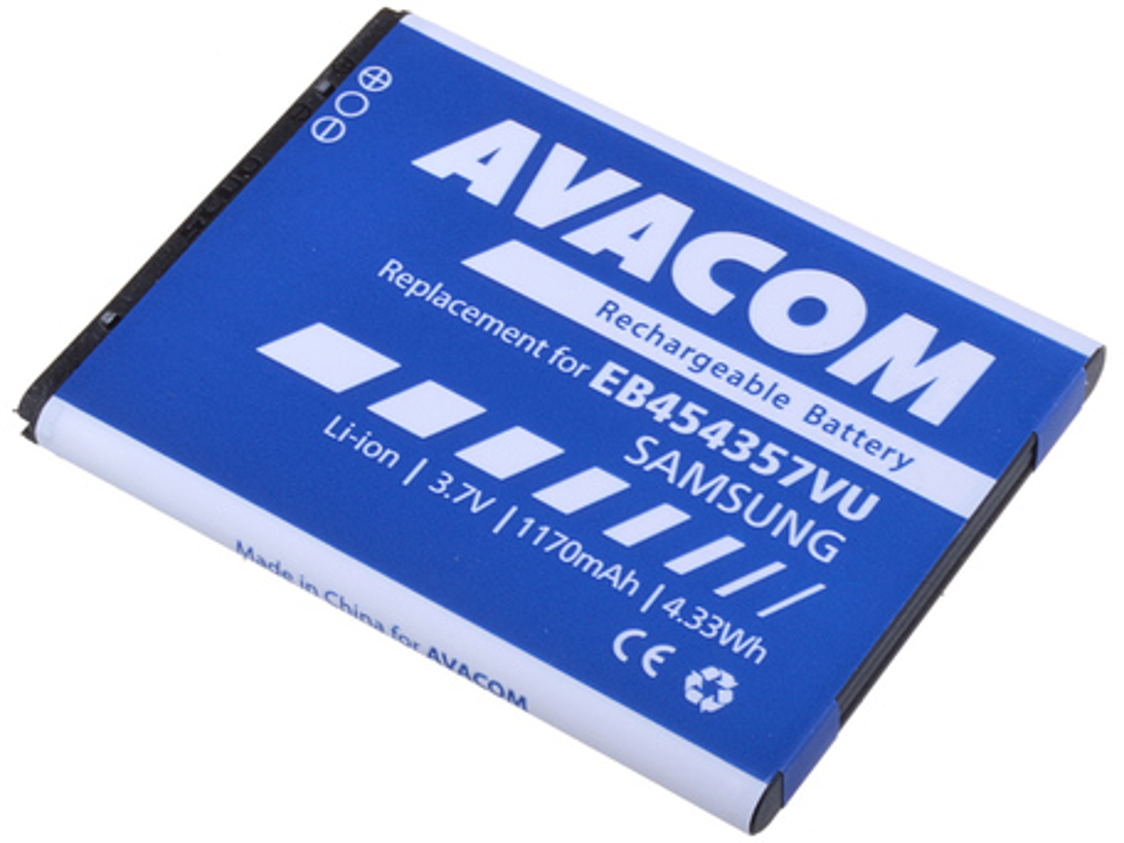 AVACOM GSSA-S5360-S950A Li-Ion 3,7V 1200mAh - neoriginální - Baterie do mobilu Samsung S5360 Li-Ion 3,7V 1200mAh (náhrada EB454357VU)