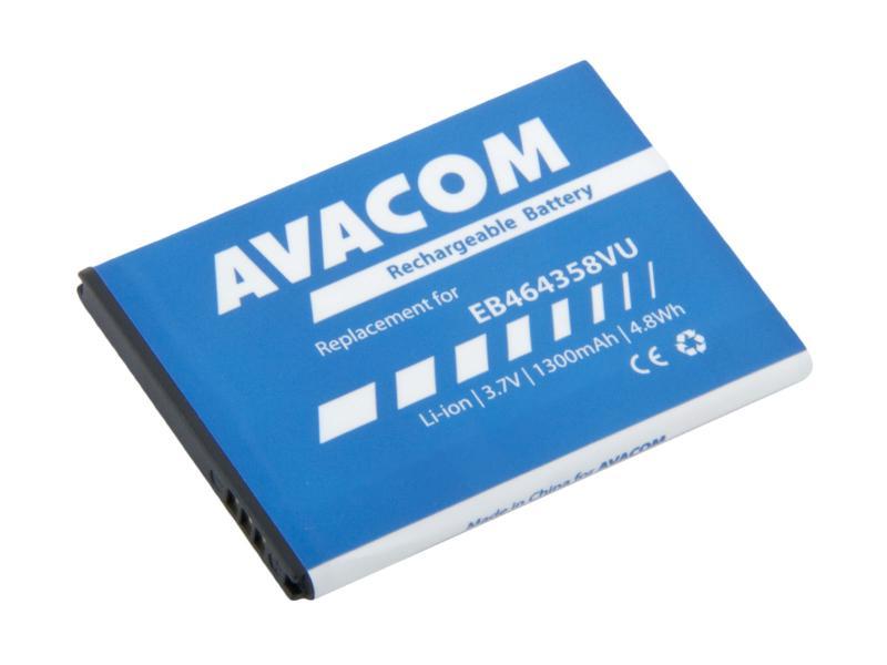 AVACOM GSSA-S7500-S1300 Li-Ion 3,7V 1300mAh - neoriginální - Baterie do mobilu Samsung S6500 Galaxy mini 2 Li-Ion 3,7V 1300mAh (náhrada EB464358VU)
