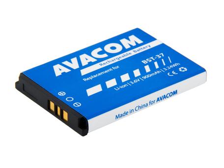 AVACOM GSSE-K750-900 Li-Ion 3,7V 900mAh - neoriginální - Baterie do mobilu Sony Ericsson K750, W800 Li-Ion 3,7V 900mAh, (náhrada BST-37)