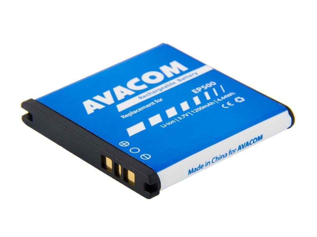AVACOM GSSE-EP500-1200 Li-Ion 3,7V 1200mAh - neoriginální - Baterie do mobilu Sony Ericsson Xperia mini Li-Ion 3,7V 1200mAh, (náhrada EP500)