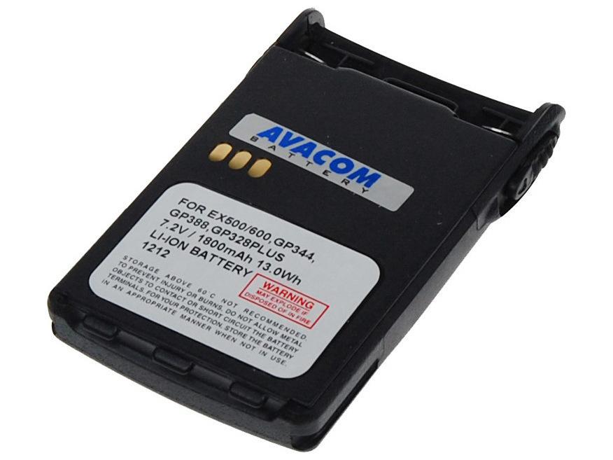 AVACOM TWMO-GP38-18L Li-Ion 7,2V 1800mAh - neoriginální - Baterie Motorola GP328 PLUS, GP344, GP688