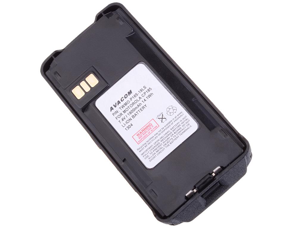AVACOM TWMO-P165-19LS Li-Ion 7,5V 1900mAh - neoriginální - Baterie Motorola P100 series, P165, P185