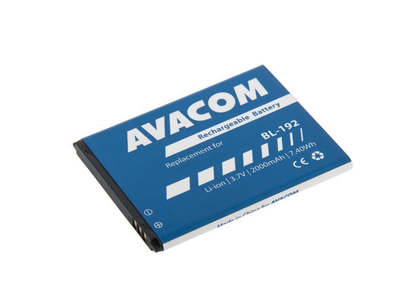 AVACOM GSLE-BL192-2000 Li-Ion 3,7V 2000mAh - neoriginální - Baterie do mobilu Lenovo A328 Li-Ion 3,7V 2000mAh (náhrada BL192)