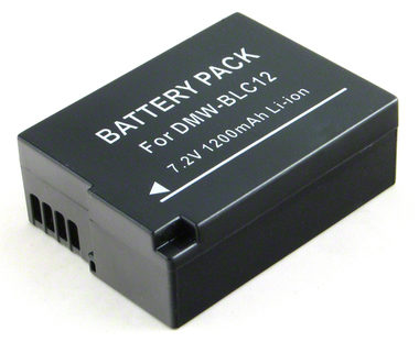 AVACOM DIPA-LC12-J1200 Li-Ion 7.4V 1200mAh - neoriginální - Baterie Panasonic DMW-BLC12 Li-Ion 7.4V 1200mAh 8.6Wh - AVACOM DIPA-LC12-649 1200 mAh baterie - neoriginální