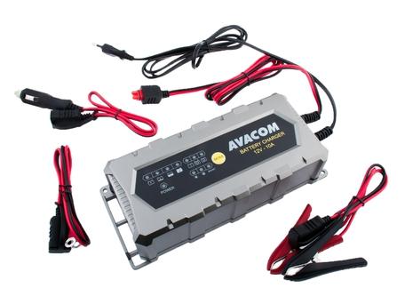 Automatická nabíječka AVACOM 12V 10A pro olověné AGM/GEL akumulátory (20 - 200Ah) - AVACOM NAPB-A100-012 + DOPRAVA ZDARMA