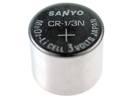 Nenabíjecí fotobaterie CR-1/3N Sanyo FDK Lithium 1ks Bulk - Sanyo FDK Lithium CR1/3N 1ks SPSA-1/3N
