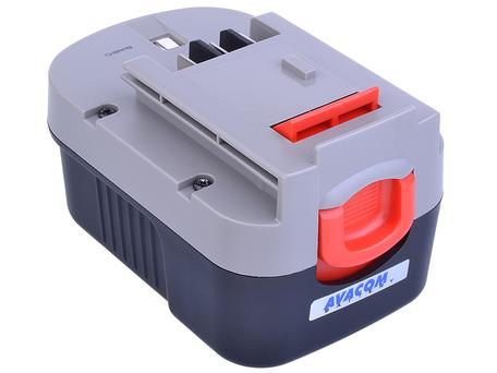 Avacom Baterie do Aku nářadí Black & Decker Atbd-14,4mh-30h Ni-mh 14,4V 3000mAh - neoriginální - Baterie Black & Decker A144, A1714 Ni-mh 14,4V 3000mA