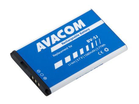AVACOM GSMI-BV5J-S1560 Li-ion 3,7V 1560mAh - neoriginální - Baterie do mobilu Microsoft Lumia 435 Li