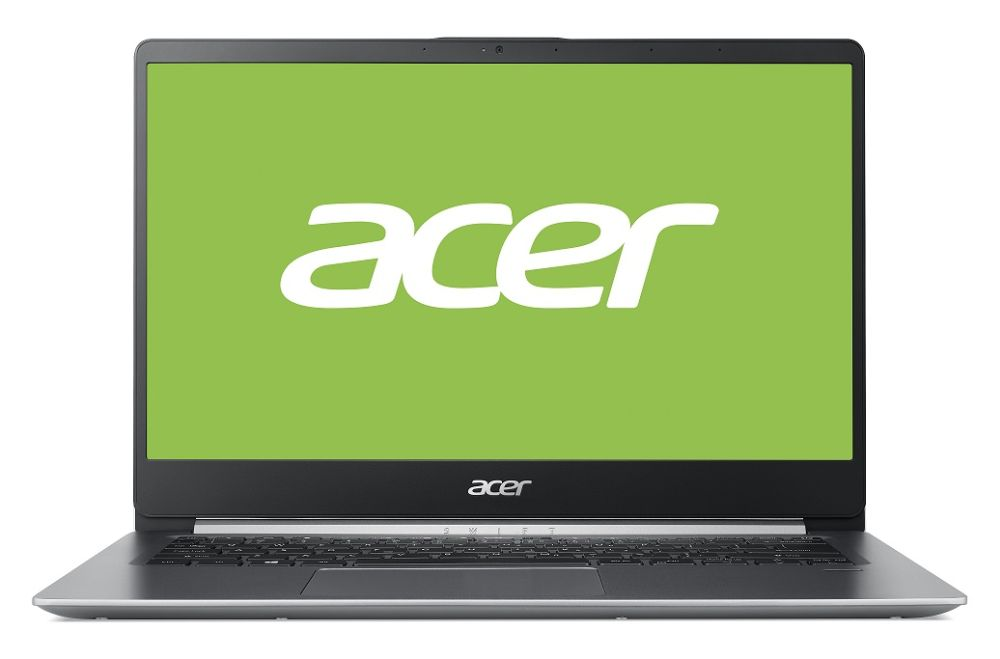 Acer notebook Swift 1 celokovov� (SF114-32-P9GY), st?�brn� Nx.gxhec.002