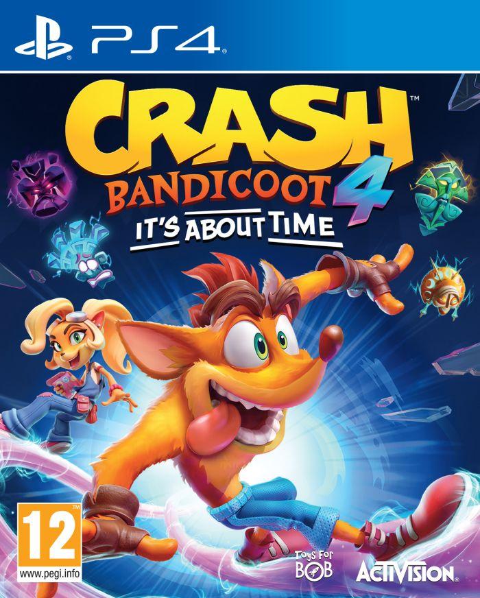 Crash Bandicoot 4:It's About Time (PS4)