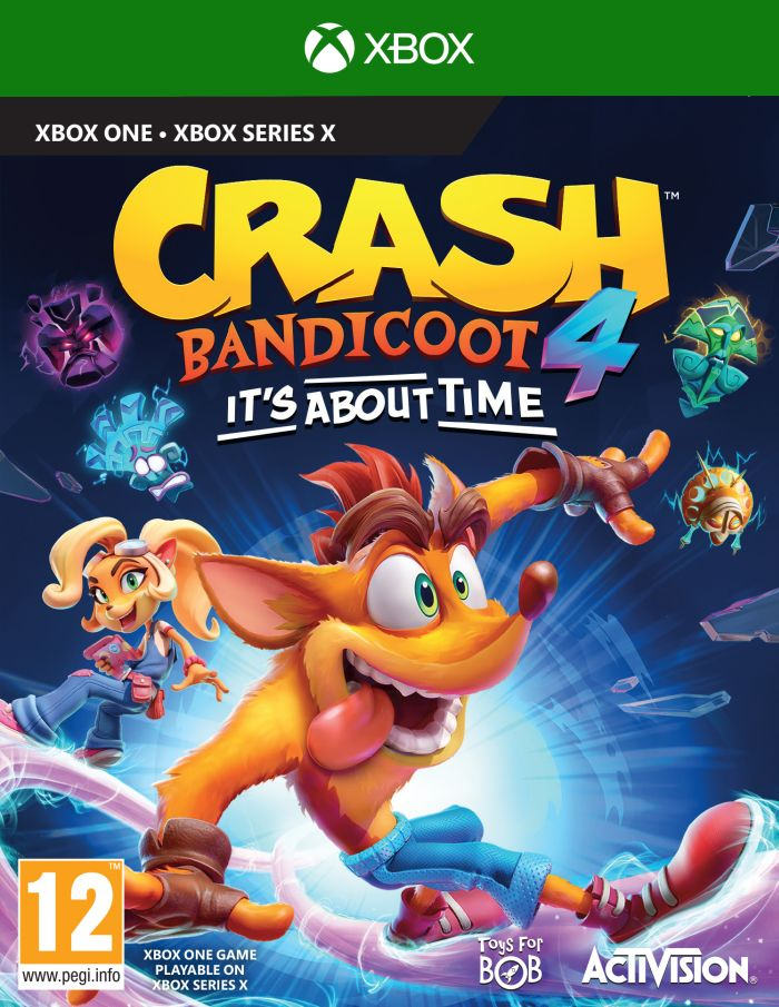 Crash Bandicoot 4:It's About Time (Xbox One) + DOPRAVA ZDARMA