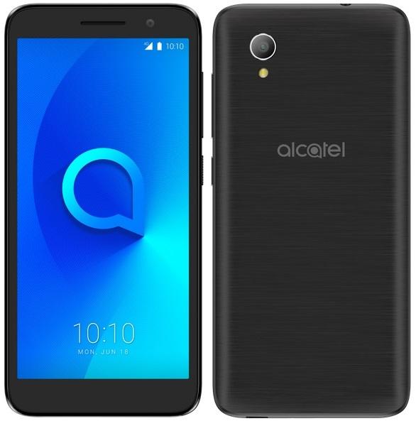 Alcatel 1 2019, 1GB/16GB, Metallic Black (5033F)
