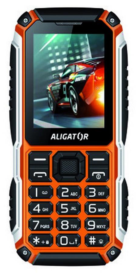 Aligator R30 eXtremo Dual SIM, černo-oranžový
