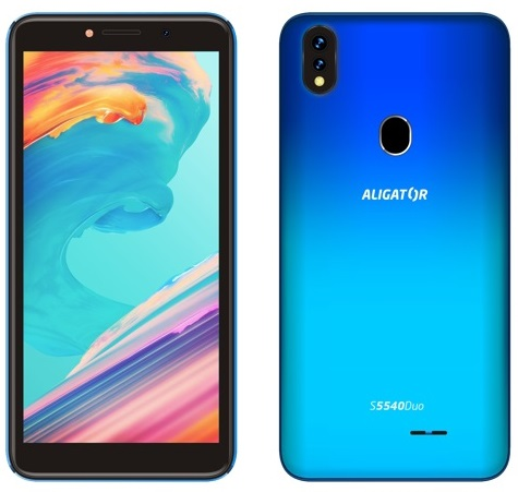 Aligator S5540 Duo 32GB modrá