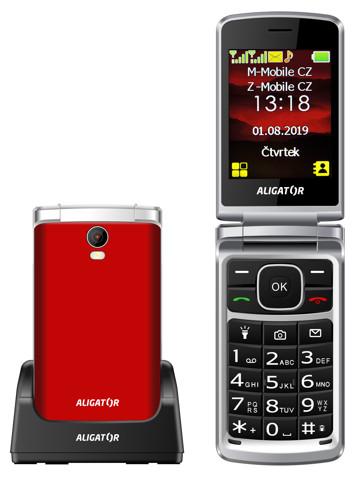 Aligator V710 Senior červená