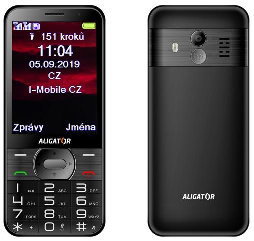 Aligator A900 Senior černá