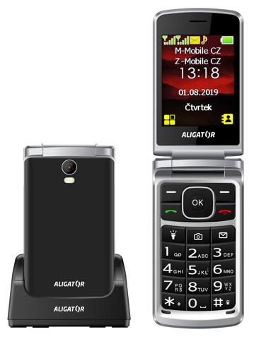 Aligator V710 Senior černá