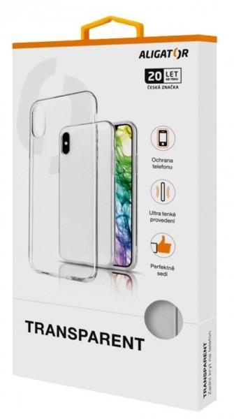 Pouzdro Aligator Samsung Galaxy A41 - Pouzdro ALIGATOR Samsung Galaxy A41 čiré